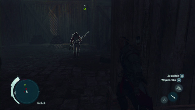 Afterwards hide behind the wall on the left, whistle onto the second enemy and kill him when he approached you - Naval mission - Fort Wolcott - Captain Kidd's treasure - Assassins Creed III - Game Guide and Walkthrough