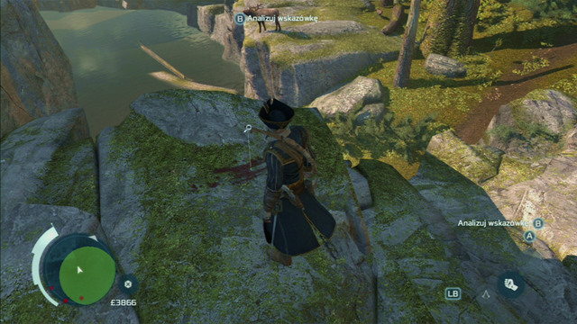 Find the traces of the wildcat in the designated area and afterwards catch up with it and kill it - The Hunting Society - Guild missions - Assassins Creed III - Game Guide and Walkthrough