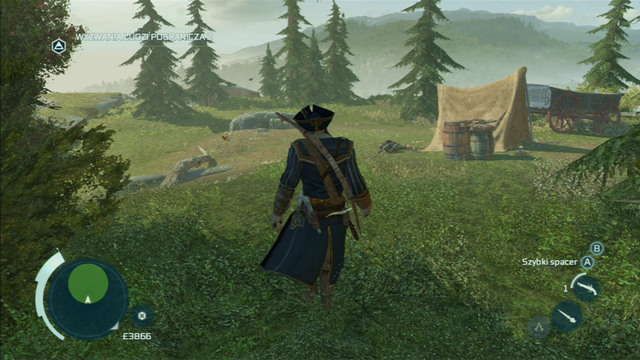 You will be attacked by a wolf - The Frontiersmen Club - Guild missions - Assassins Creed III - Game Guide and Walkthrough