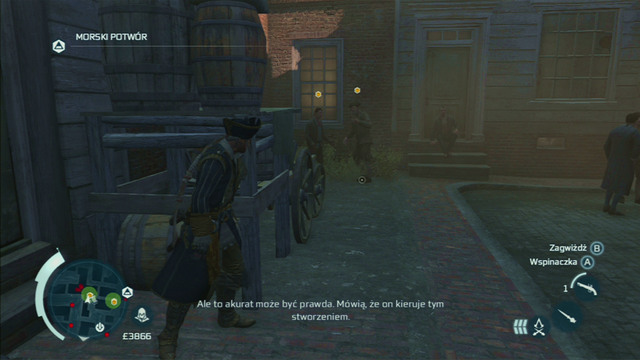 Location: Boston - The Frontiersmen Club in Assassins Creed III Remastered - Guild missions - Assassins Creed III Game Guide & Walkthrough