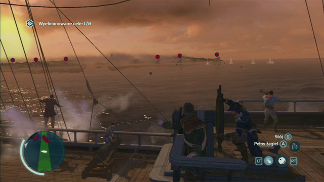 At first you will receive a mission of destroying 8 British ships - Raiding the Prospector - Privateer Contracts - Assassins Creed III - Game Guide and Walkthrough
