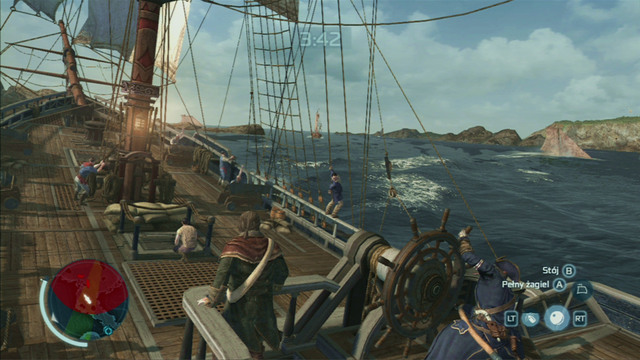 Optional objective: Sink a frigate - One of a Kind - Privateer Contracts - Assassins Creed III - Game Guide and Walkthrough