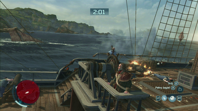 To avoid bigger damage, try destroying the enemy ships before they can get close to you - One of a Kind - Privateer Contracts - Assassins Creed III - Game Guide and Walkthrough