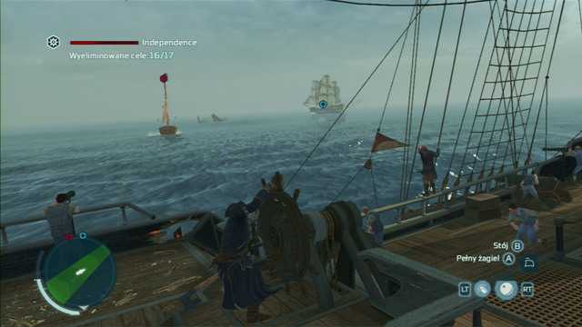 The protected ship should receive some damage, but it should manage to break out and destroy a few enemies - A Call for Help - Privateer Contracts - Assassins Creed III - Game Guide and Walkthrough