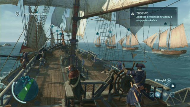 Optional objective: Complete the contract with minimal allied casualties - 4 - The Sea Wolves - Privateer Contracts - Assassins Creed III - Game Guide and Walkthrough
