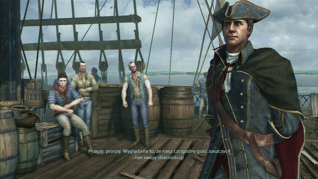 After reaching your destination, you will be attacked by one of the crew members - Sequence 1 - Journey to the New World - Walkthrough - Assassins Creed III - Game Guide and Walkthrough