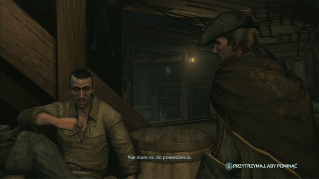 As the next day begins, head out of your cabin and speak with the marked crew members - Sequence 1 - Journey to the New World - Walkthrough - Assassins Creed III - Game Guide and Walkthrough