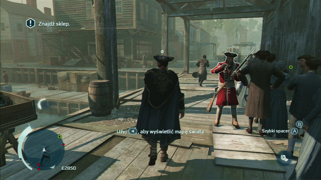 He will eventually leave you - Sequence 2 - Welcome to Boston - Walkthrough - Assassins Creed III - Game Guide and Walkthrough