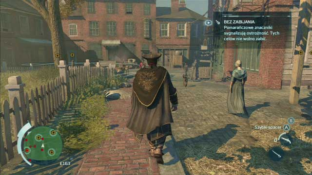 Optional objective: Eavesdrop on a moving group of guards - Sequence 2 - The Surgeon - Walkthrough - Assassins Creed III - Game Guide and Walkthrough