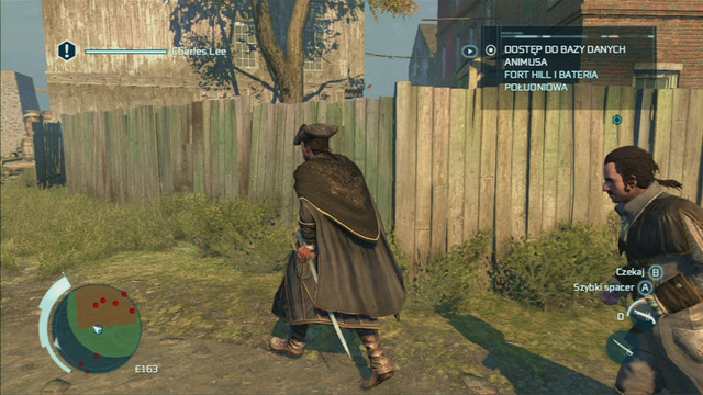 In order to reach the suburb warehouse unnoticed, go round the red zone from the north - Sequence 2 - The Surgeon - Walkthrough - Assassins Creed III - Game Guide and Walkthrough