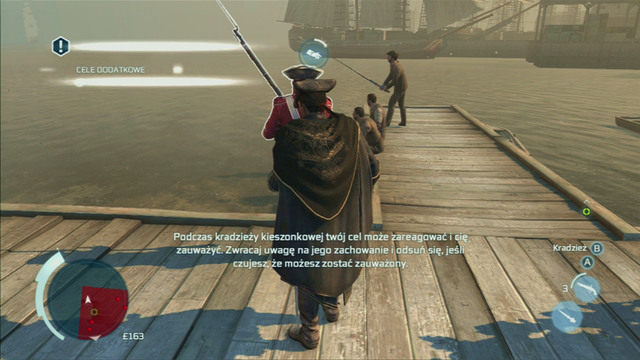 In order to complete the additional objective, you have to remain undetected - Sequence 2 - The Surgeon - Walkthrough - Assassins Creed III - Game Guide and Walkthrough