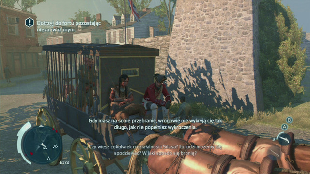 With the last enemy dead, you will take control of the carriage - Sequence 2 - Infiltrating Southgate - Walkthrough - Assassins Creed III - Game Guide and Walkthrough