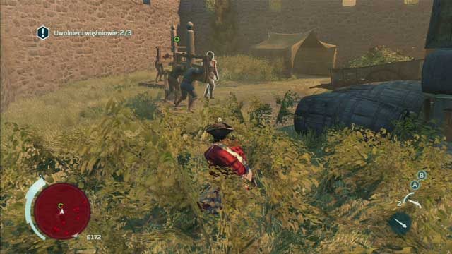 The last group of prisoners can be found nearby the first - Sequence 2 - Infiltrating Southgate - Walkthrough - Assassins Creed III - Game Guide and Walkthrough