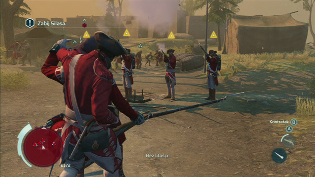 After a short cutscene you will be attack by British soldiers - Sequence 2 - Infiltrating Southgate - Walkthrough - Assassins Creed III - Game Guide and Walkthrough