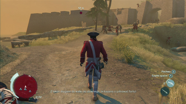 Things will be more difficult if you decide to complete the additional objective of avoiding any enemy fire - Sequence 2 - Infiltrating Southgate - Walkthrough - Assassins Creed III - Game Guide and Walkthrough