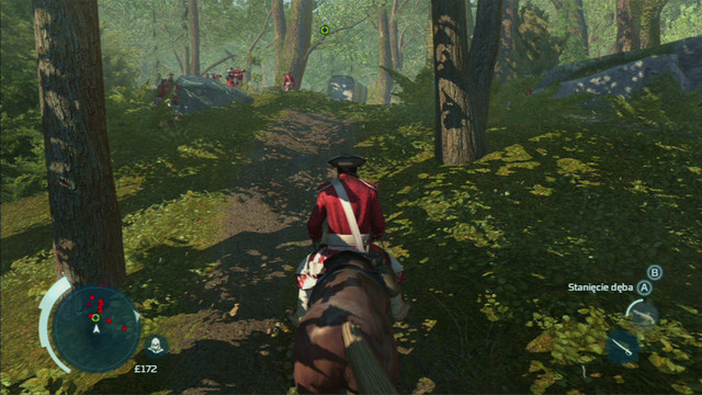 That way you will obtain an uniform and will be able to safely ride to Braddock, marked on the map - Sequence 3 - The Braddock Expedition - Walkthrough - Assassins Creed III - Game Guide and Walkthrough