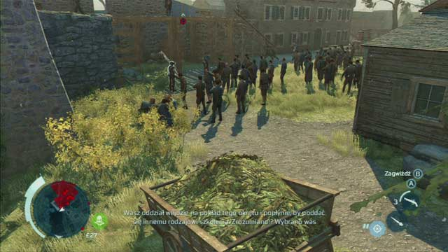 Eliminate the second enemy from the nearby bushes - Boston - southern district - Assassin Guild - Assassins Creed III - Game Guide and Walkthrough
