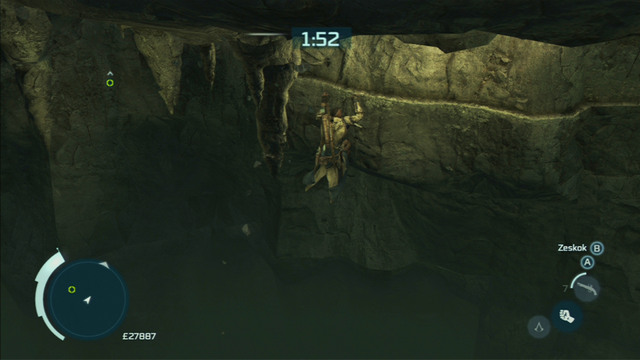 Pick the lock and the cave will start crumbling - Achilles - Homestead - Assassins Creed III - Game Guide and Walkthrough