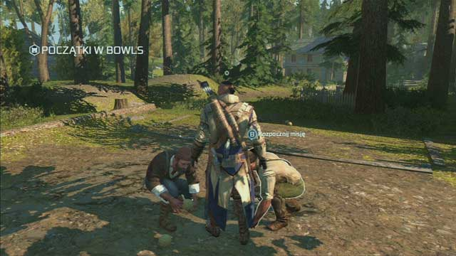 Location: Homestead - Godfrey and Terry - Homestead - Assassins Creed III - Game Guide and Walkthrough