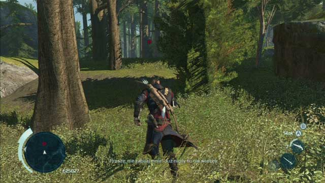 Your target is the poacher - Myriam - Homestead - Assassins Creed III - Game Guide and Walkthrough