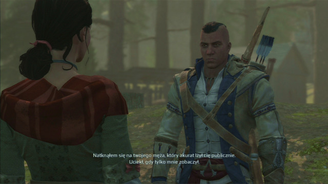 Take it to the woman and the mission will end - Ellen - Homestead - Assassins Creed III - Game Guide and Walkthrough