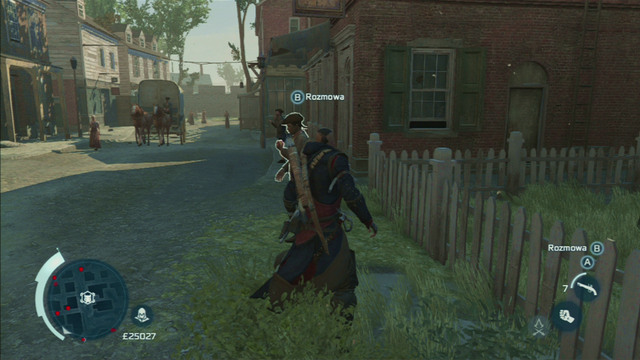 He will be marked on the map with a Homestead icon - Lyle White - Homestead - Assassins Creed III - Game Guide and Walkthrough
