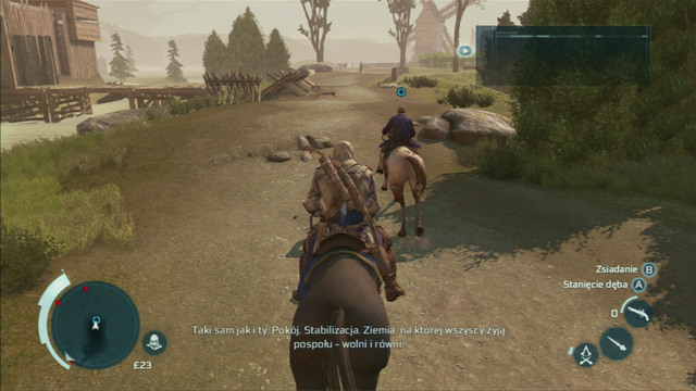 To begin the mission, use fast travel to get to New York and afterwards follow your contact on a horse - Sequence 8 - Something on the Side | Assassins Creed III Remastered Walkthrough - Walkthrough - Assassins Creed III Game Guide & Walkthrough