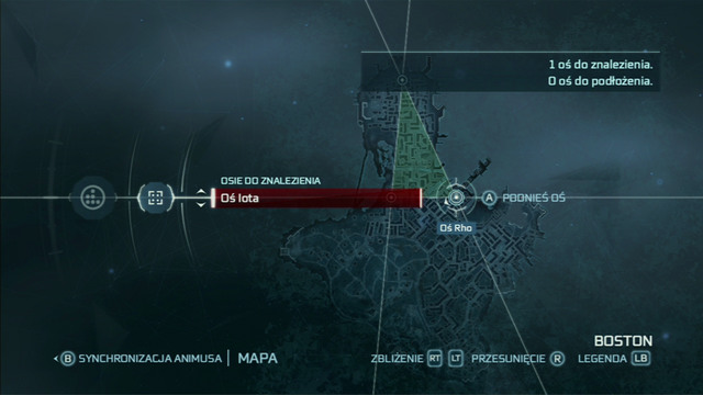 By manipulating the lines, you can widen the area - Animus Synching - Assassins Creed III - Game Guide and Walkthrough
