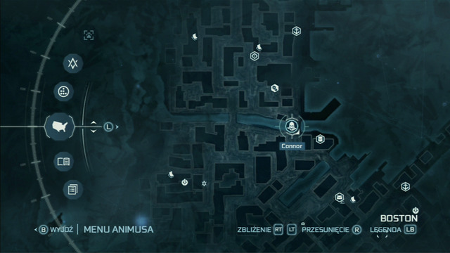 The first pivot can always be found in Boston on the roof of a building, but others are placed by other players in various places - Animus Synching - Assassins Creed III - Game Guide and Walkthrough