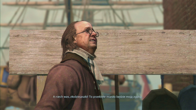During the second sequence, you will come across Benjamin Franklin on Boston - Almanac Pages - Collectibles - Assassins Creed III - Game Guide and Walkthrough