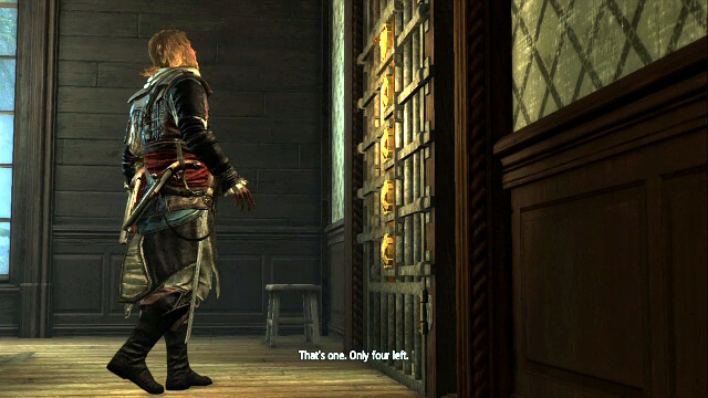 The locked door - 01 - This Old Cove | Sequence 4 - Sequence 4 - Assassins Creed IV: Black Flag Game Guide & Walkthrough