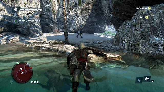 The cove and the guard - 02 - Nothing is True... - Sequence 4 - Assassins Creed IV: Black Flag - Game Guide and Walkthrough