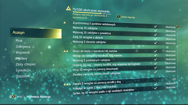 In the game, there are 100 Abstergo Challenges, divided into several categories - Abstergo Challenges - cheats - Assassins Creed IV: Black Flag - Game Guide and Walkthrough