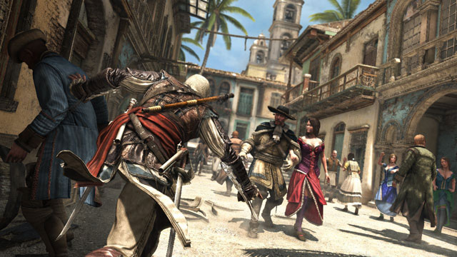 Assassins Creed IV: Black Flag takes place on over 50 islands of Caribbean Sea, on which you can land - Map of the Caribbean - Assassins Creed IV (coming soon) - Game Guide and Walkthrough