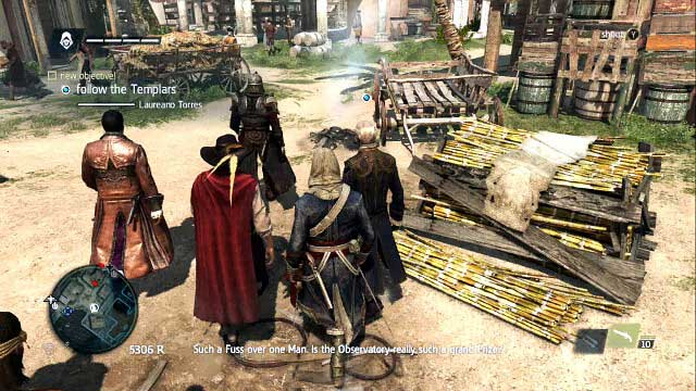 Follow the group - 04 - A Man They Call The Sage - Sequence 2 - Assassins Creed IV: Black Flag - Game Guide and Walkthrough