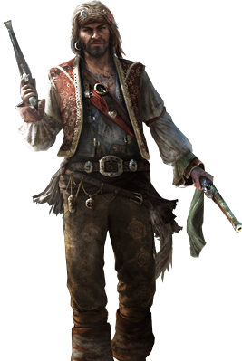 assassins creed black flag characters voices