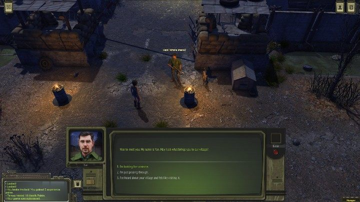 Before you enter the city, talk to a man standing at the gate - Otradnoye - ATOM RPG Walkthrough - Walkthrough - ATOM RPG Guide