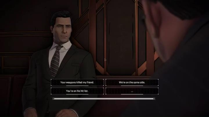 You will once again appear in the casino as Bruce Wayne - Chapter 6 - Riddle Me This | Episode 1 - Episode 1 - Batman: The Telltale Series - The Enemy Within Game Guide