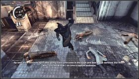 Вы начинаете игру в области «Удерживающие ячейки» (используйте вашу личную карту для навигации), и вашей первой целью будет победить две группы головорезов - Прохождение - Интенсивное лечение - часть 1 - Прохождение - Бэтмен: Убежище Аркхэма - Руководство по игре и прохождение