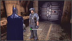 Отправляйтесь на север, и вскоре вы попадете в коридор обработки - Прохождение - Интенсивное лечение - часть 1 - Прохождение - Бэтмен: Убежище Аркхема - Руководство по игре и прохождение