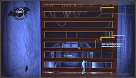 Снова активируйте детективный режим и осмотрите северную стену комнаты - Прохождение - Интенсивное лечение - часть 1 - Прохождение - Бэтмен: Убежище Аркхема - Руководство по игре и прохождение