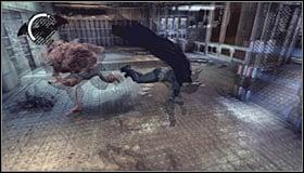 По прибытии в Secure Treatment Transfer вам придется сразиться с мини-боссом - Прохождение - Интенсивное лечение - часть 2 - Прохождение - Бэтмен: Убежище Аркхэма - Руководство по игре и прохождение