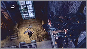 Подойдите к выходу из шахты и нажмите клавишу действия, чтобы переместить решетку - Прохождение - Интенсивное лечение - часть 3 - Прохождение - Бэтмен: Убежище Аркхэма - Руководство по игре и прохождение