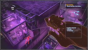 Ваша следующая цель должна быть охранником, патрулирующим соседнее здание - Прохождение - Интенсивное лечение - часть 3 - Прохождение - Бэтмен: Убежище Аркхэма - Руководство по игре и прохождение