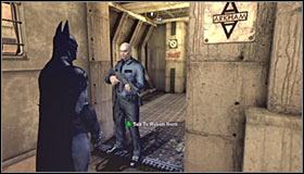 Теперь вам предстоит решить свою первую загадку - Прохождение - Интенсивное лечение - часть 3 - Прохождение - Бэтмен: Убежище Аркхема - Руководство по игре и прохождение