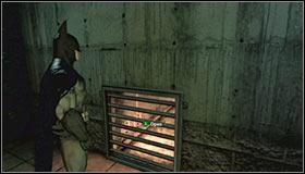 Используйте лестницу, чтобы добраться до подвала и пройдите через длинный коридор - Прохождение - Интенсивное лечение - часть 3 - Прохождение - Бэтмен: Убежище Аркхема - Руководство по игре и прохождение