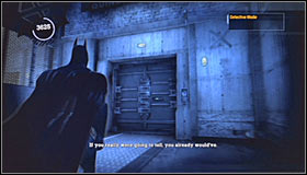 9 - Walkthrough - Intensive Treatment #2 - part 2 - Walkthrough - Batman: Arkham Asylum - Game Guide and Walkthrough