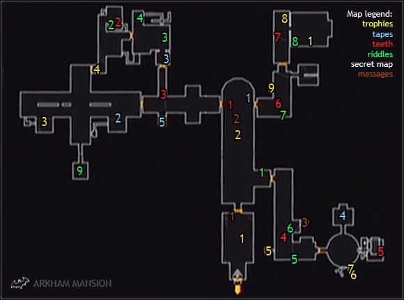 Mansion secret скачать карту