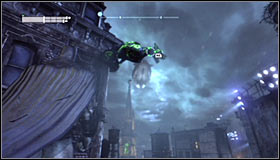 After reaching the area where the Trophy is hidden you should note that there is a large horizontal gate blocking access to it #1 - Batman trophies (25-36) | Park Row - Park Row - Batman: Arkham City Game Guide