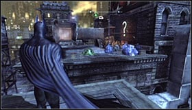 16 - Batman trophies (25-36) | Park Row - Park Row - Batman: Arkham City Game Guide